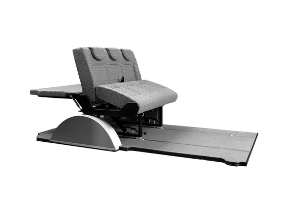 flip Variotech Reimo seat base up and forwards