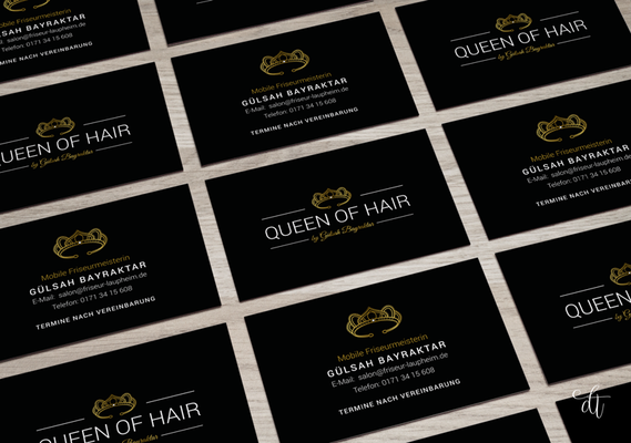 Queen of Hair - Gülsah Bayraktar - 2018: Beauty-Visitenkarten