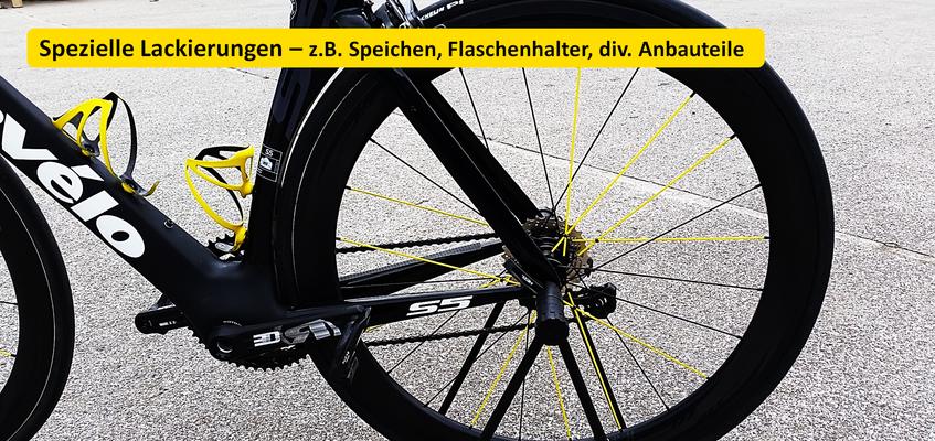 Triple-M, Speziallackierungen, Bike Lackierungen, Airbrusch Design, Lackausbesserungen Fahrrad, Triple-M.Fahrrad., Gerhard Mayr, Triple-M.Carbon.