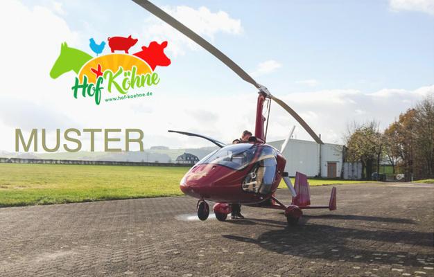Gutschein Sauerlandrundflug im Gyrocopter