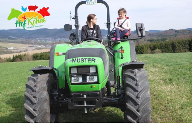 Gutschein für Traktor selber fahren in NRW