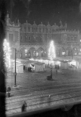 Navidad de 1940 en Cracovia bajo la ocupación nazi alemana. Muzeum Historyczne Miasta Krakowa
