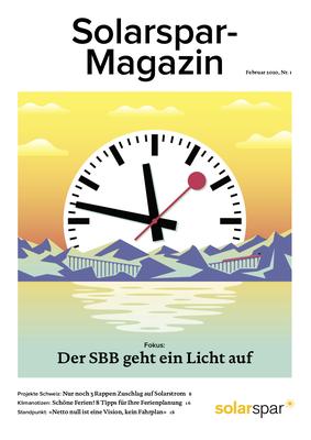 Solarspar-Magazin 1/2020