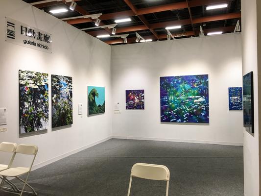 アート台北2017・日動画廊のブース