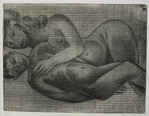 Verführung  1971  40 x 30                    ( 4 )