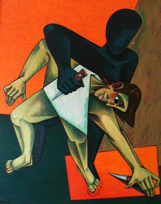 Kain und Abel  1984  115 x 140