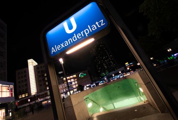 U-Bahn Station Alexanderplatz