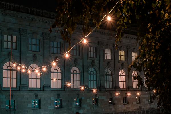 Lauschiger Abend an der Spree / Bode Museum, Museumsinsel