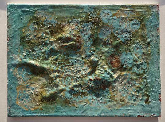 40x50cm Encaustic