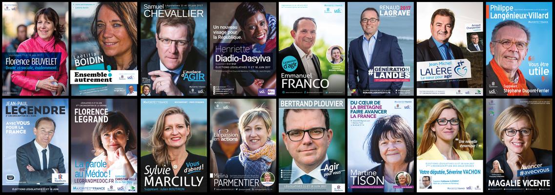 Affiches électorales, Législatives 2017 / Plebiscit