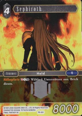 Promo Sephiroth PR-001