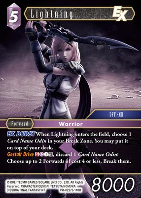Lightning 3-118H | PR-022