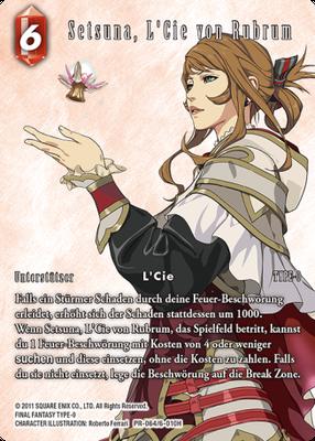 Setsuna, L'Cie von Rubrum 6-010H | PR-064