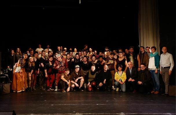 """Händelfestspiele Göttingen 2014: HipHopera """"Faramondo"""" -Lichtdesign und Probenarbeit-"""