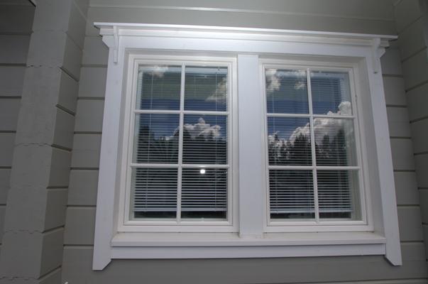 Fenêtre maison bois