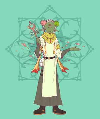 ニキョウ Wand