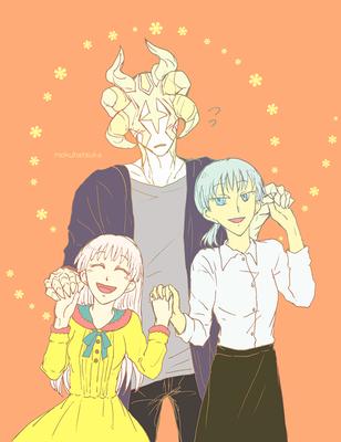 『お手をどうぞ』 姉妹と幼馴染くん。