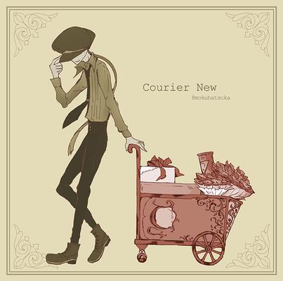 『 Courier New 』 (好きなフォントをイメージ元にキャラクター化)  0225