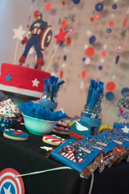 Foto enviada por Marina - Argentina - Capitán América