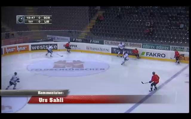 Urs Sahli @SSF / Eurpean Tropy 2012 SCB vs. Bili Tygri Liberec
