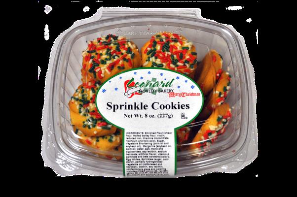 8 oz Sprinkle Cookies