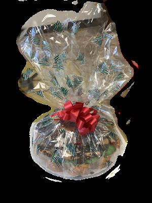 32 oz Christmas Crystal Platter