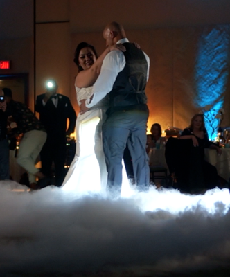 Beautiful First Dance on a Cloud, Squaw Creek Resort, N. Lake Tahoe, CA