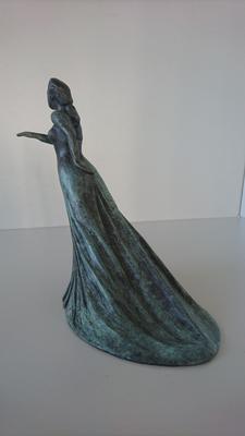 """""""Avanta!""""(brons, 23 cm)"""