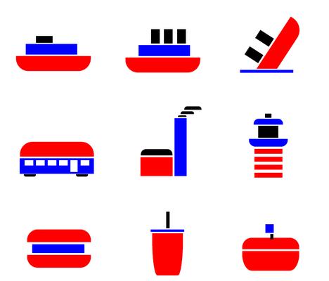 Piktogramme von Frederik, 2. Klasse Mediendesign / Technische Dokumentation.