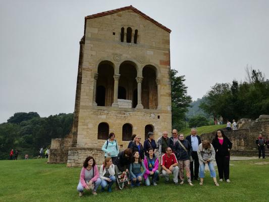 En Santa María del Naranco