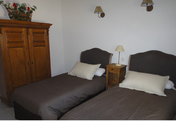 Schlafzimmer Villa Muscat