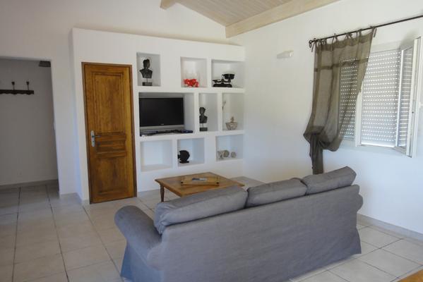 Wohnzimmer Villa Muscat