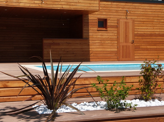 Ferienhaus mit Pool Isère