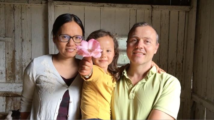 Mathieu, Danyun et Marie-Durga