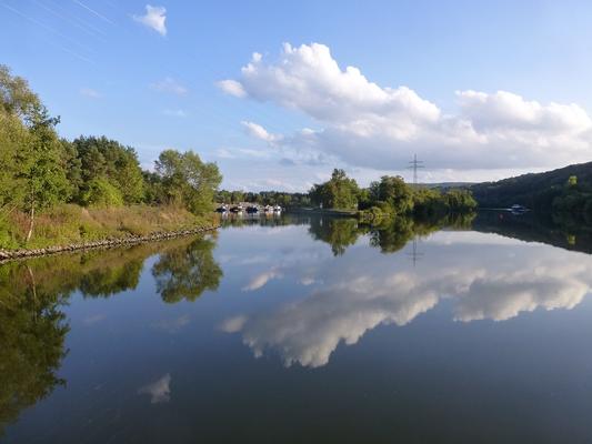 Hafeneinfahrt Erlenbach am Main