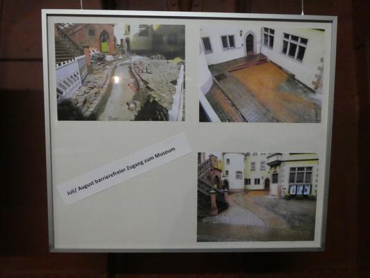 """Bild """"Juli / August barrierefreier Zugang zum Museum"""""""