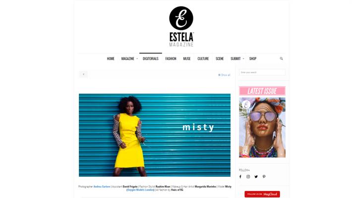 PUBLISHED ON ESTELA MAGAZINE