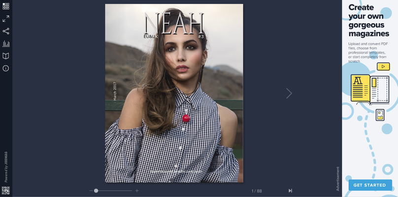 COVER ON THE MAGAZINE NEAH