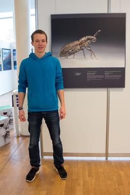 Mein Siegerbild in der Ausstellung des ENJ2015