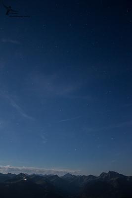 Der Nachthimmel war für die Milchstraße leider viel zu hell, aber trotzdem attraktiv