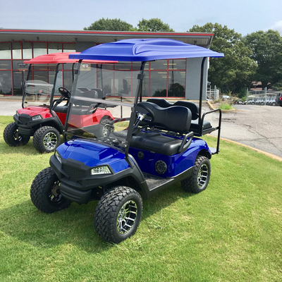 2014 YAMAHA CUSTOM WITH HAVOC BODY , COLOR MATCHED TOP, FULL STEREO, LIFT KIT, AFTERMARKET WHEELS, AND REAR FLIP SEAT SET