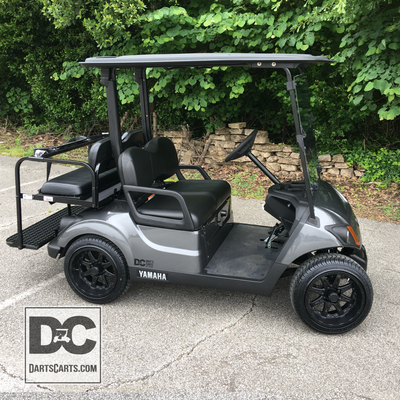 2019 YAMAHA PTV WITH CUSTOM PAINT BODY IN BLACK OUT . 1 OF 1