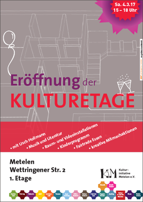 Kulturetage Metelen Eröffnung 2017