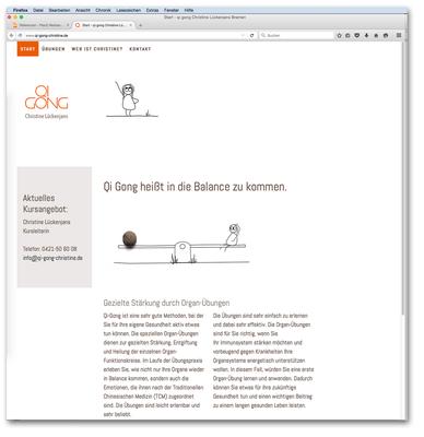 Web Startseite