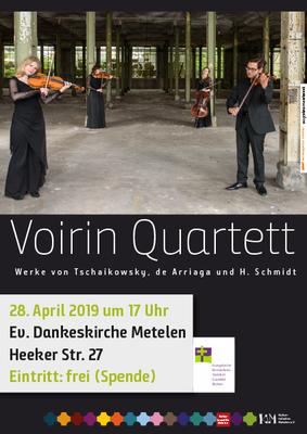 Voirin Quartett in der ev. Dankeskirche in Metelen