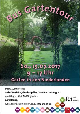 Tag der offenen Gärten in Metelen 2017