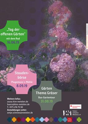 Gartentour und Tag der offenen Gärten in Metelen