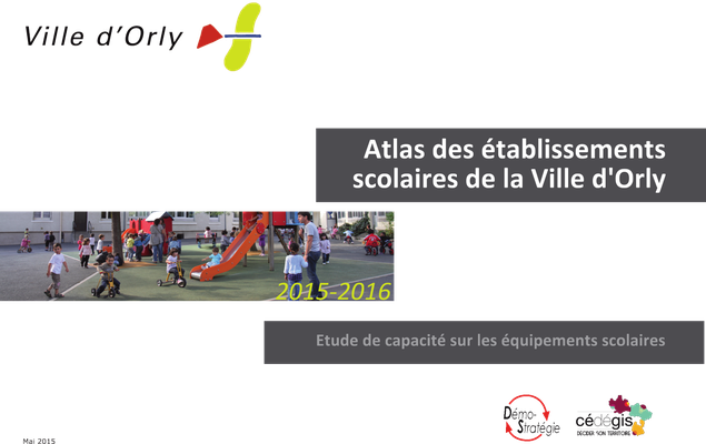 Atlas des établissements scolaires de la Ville d'Orly
