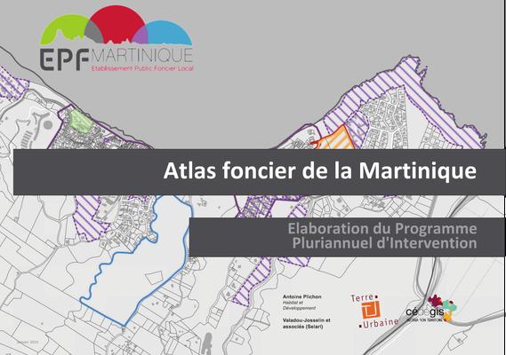 Atlas foncier de la Martinique