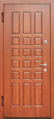 металлическая дверь  город Руза серия МДФ № 5.
